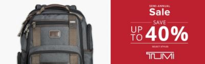 Tumi Sale Up to 40%