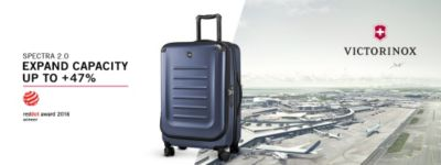 Victorinox | Spectra 2.0 | Expand Capacity Up to +47%