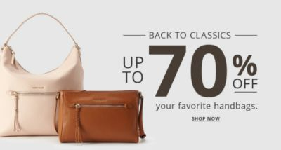 Back to Classics | Up to 70% Off