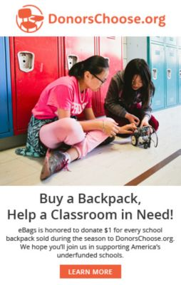 Buy a Backpack, Help a Classroom in Need