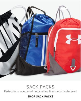 Sack Packs perfect for small necessities & extra cirricular gear