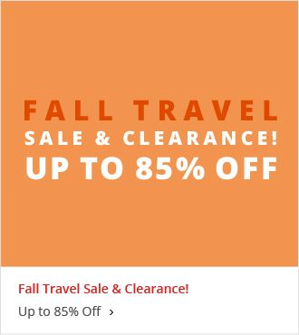 Fall Travel Sale & Clearance Save up to 85%