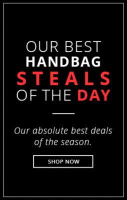 Steals of the Day Handbags!
