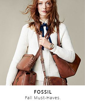 Fossil fall must haves
