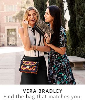 Vera Bradley find the bag that matches you