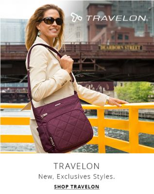 Travelon new exclusive styles shop travelon