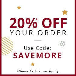20%* OFF YOUR ORDER USE CODE: SAVEMORE