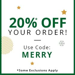 20%* OFF YOUR ORDER USE CODE: MERRY