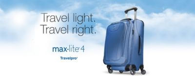 Travelpro Travel Light, Travel Right