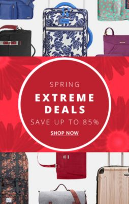 Spring Extreme Deals Save up to 85% off