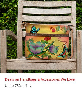 Handbags & Accessories We Love Up to 75% off