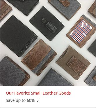 Our Favorite Small Leather Goods Save up to 60% off