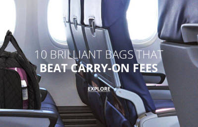 Beat Carry-On Fees