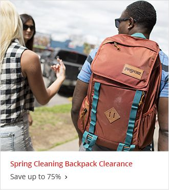 Spring Cleaning Backpack Clearance