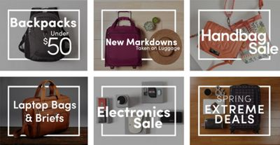 eBags Sale Tab