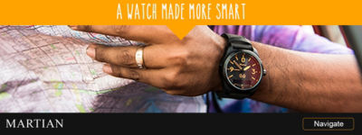 Shop Martian Watches | A Watch Made More Smart