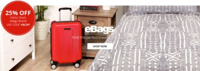 eBags Travel Companion | 25 OFF