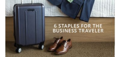 6 Staples for the Business Traveler