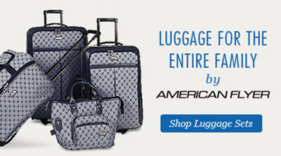 Luggage for the entire family by American Flyer | Shop Luggage Sets