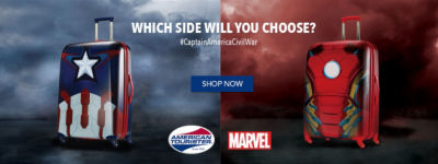Shop American Tourister Marvel
