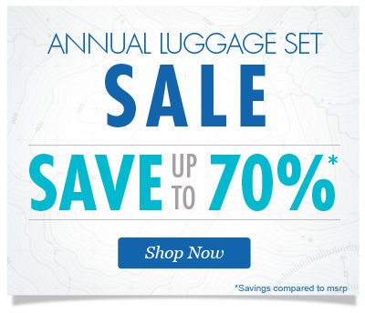Annual Luggage Set Sale Save up to 70% | Shop Now
