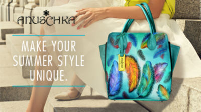 Make your Summer Style Unique with New Handbag Styles from Anuschka. Shop Now!