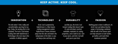 Arctic Cool | Keep Active. Keep Cool.