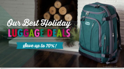 Shop Our Best Luggage Deals of the Season!