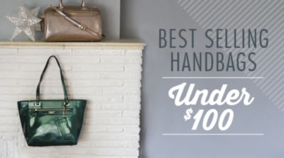 Shop Best-Selling Handbags & Purses Under $100!