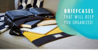 Shop Briefcases that will keep you organized!