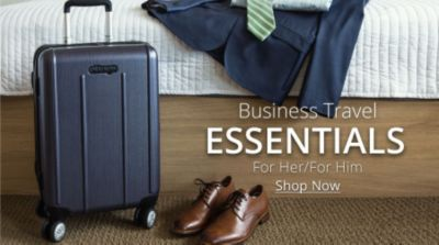 Business Travel Essentials | For Her/For Him