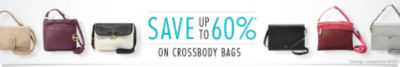 Save up to 60% on Crossbody Handbags & Purses. Shop Now!