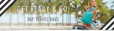 Get Ready and Go! Shop Day Travel Handbags & Purses