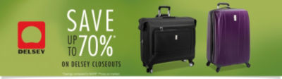 Save up to 70% on Delsey Closeouts. Shop Delsey Luggage Now