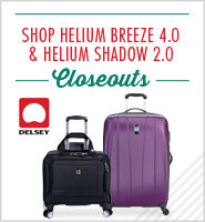 Delsey Helium Closeouts