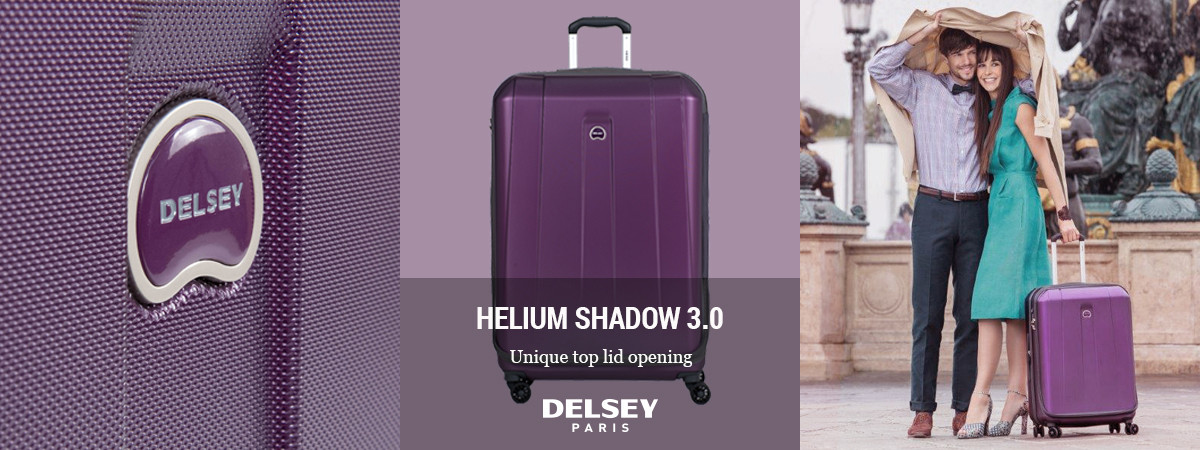 Shop Delsey Helium Shadow 3.0