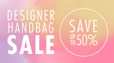 Designer Handbags & Purses Sale! Save up to 50%. Shop Now