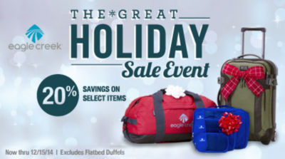 Eagle Creek Sale - Save 20% on select styles