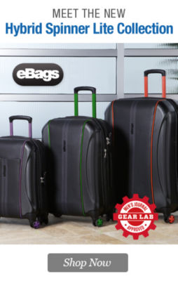 eBags Brand Hybrid Lite Spinner Collection | Shop Now