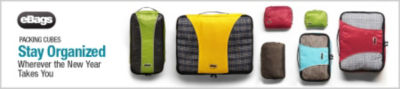 eBags Brand Packing Cubes. Stay Organized Wherever the New Year Takes You. Shop Packing Cubes Now