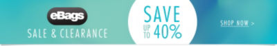 Save up to 40% | Shop eBags Sale