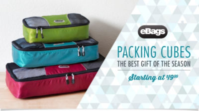 eBags Brand Packing Cubes - the Best Gift of the Season Starting at $19.99 - Shop Now!
