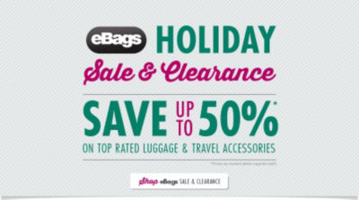 Shop eBags Sale & Clearance - Save up to 50% on Top Rated Luggage & Travel Accessories