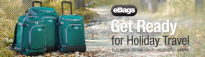 Shop eBags Brand TLS Limited Edition Color Heathered Juniper