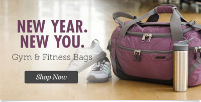 Shop Gym & Fitness Bags & Duffels for the New Year!