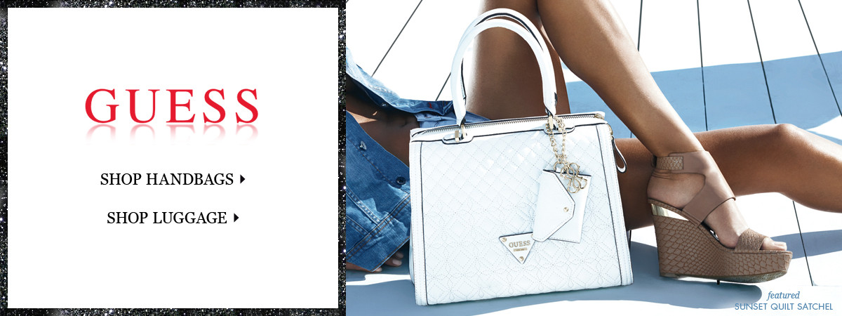 Shop GUESS Handbags and Luggage