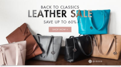 Back to Classics Leather Sale | Save up to 60% | Shop Now