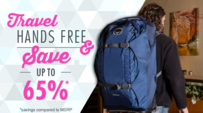 Shop Travel Packs - Save up to 65%