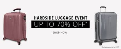 Hardside Luggage Event | Up to 70% Off | Shop Now