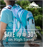 Save on High Sierra Backpacks